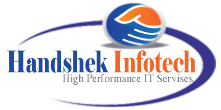 Handshek Infotech professional corporate html5 website